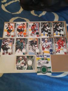 12 carte de hockey jersey