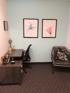 Furnished office for rent (part-time) in Brossard
