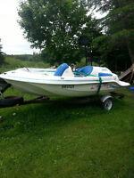 90 HP Jet Boat 13' long