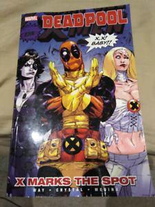 Deadpool volume 3 xmarks the spot