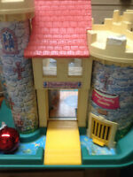 Mint Fisher price castle