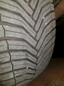 Michelin cross climate tyres