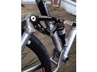 Trek full suspension mountain bike hybrid fuel 80 not Carrera or Scott or Giant