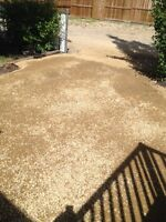 Need your back driveway fixed up???