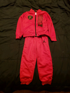 Jordan worn Size 4t Sweat Suit- SERIOUS BUYERS