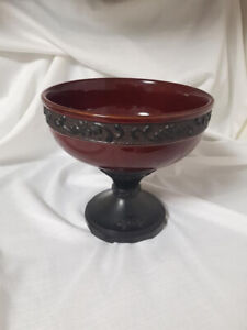 BEAUTIFUL BRAND NEW CONDITION HEAVY SCENTSY COLLECTOR DECOR BOWL