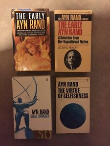 AYN RAND books for sale..