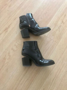 Alexander Wang Patent Leather Boots. Size 7