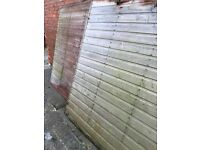 Garden shed 3 sides free 8ft square