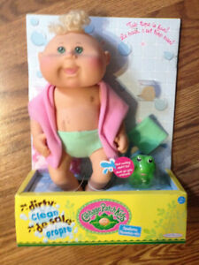 "Cabbage Patch Kids ""Dirty to Clean"" doll"