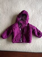 North Face Reversible spring Fall Jacket 6-12 months