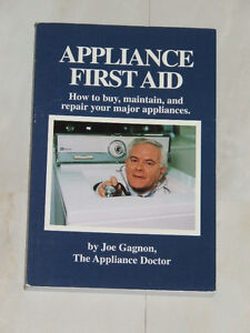 Autographed book by ex-Timmins resident: Appliance First Aid