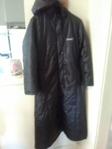 Winter coat with removable hood for sale