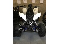Yamaha raptor 700 white and black
