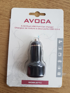 4.4A Dual USB Port Car Charger