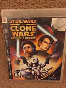 Star Wars The Clone Wars Republic Heros  - for the Playstation 3
