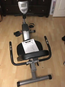 Exerpeutic 1111 900XL Extended Capacity Recumbent Bike with Puls