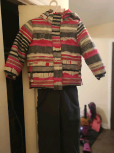 Manteau d'hiver fille 5ans et botte