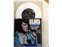 Elvis rare collection vinyls posters books and magazines