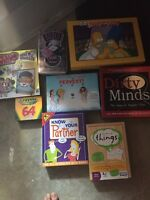 Board games. For kids and adult