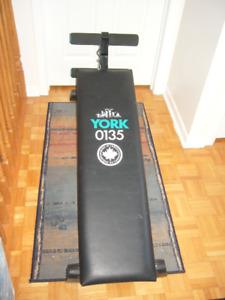 Planche d'exercice York