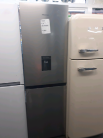 Grey hisense fridge freezer