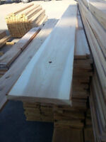 1x8 CEDAR Boards (rough sawn) -  CLEARANCE LUMBER MATERIALS