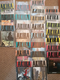 Marvail Akira manga crafic novels