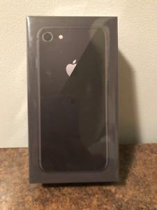 IPHONE 8 (64GB) - UNLOCKED - SEALED IN ORIGINAL BOX (UNOPENED)