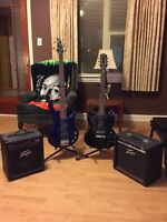Guitars, amps for sale