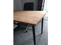Soild wood top desk!!
