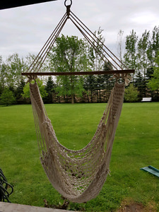 Rope chair swings