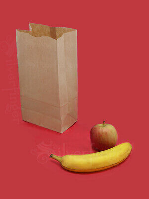 Brown Paper Bags #5 Kraft Lunch Bag — Grocery Sack Sandwich Gift Wedding Party