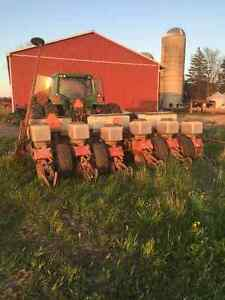 White 6 row corn planter