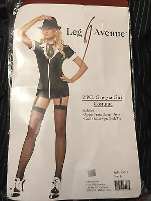 2 PC. Gangsta Girl Costume