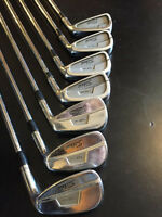 Titleist 735cm Irons Right Handed / Cobra 3 & 5 Wood