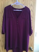 Purple blouse brand