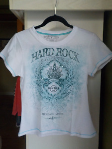 HARD ROCK CAFE BUENOS AIRES GEM GLAM WOMEN'S T-SHIRT-SIZE SMALL