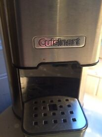 Cuisinart one cup bean to cup coffeemaker