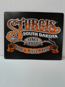 STURGIS MOTORCYCLE RALLEY SIGNS