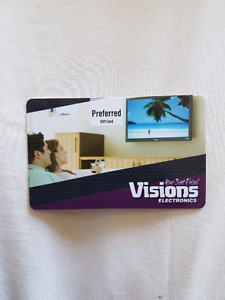 $50 Vision Electronics Gift Card