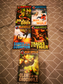 Bear Grylls books 1-5