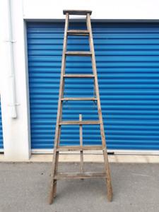 8 Foot Wooden Ladder