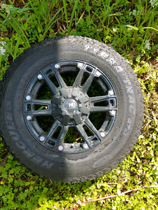 18 inch rims and tires off 2015 ford f150