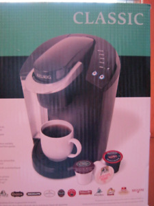 Never Used CLASSIC Kerig Gourmet Single Cup Coffee Maker