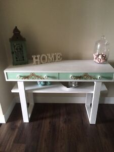 Console Table Refinished