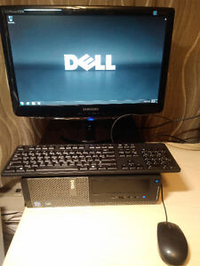 DELL Optiplex 3010 i3 with monitor