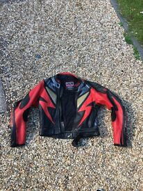IXS Motorcycle 2 piece leather suit (54)