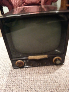 1950s Admiral black and White tv