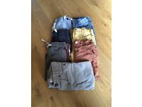 6 pairs of boys trousers and 1 pair of shorts- age 2-3 years